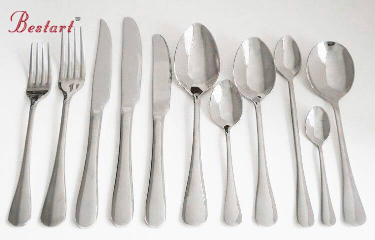 Hot sell stainless steel restaurant hotel cutlery set