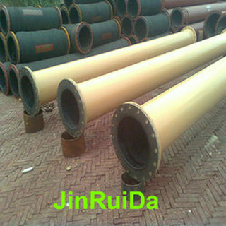 Mining Rubber Lined Pipe Fitting