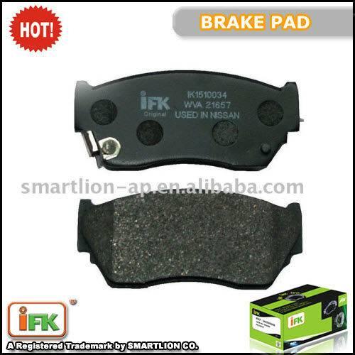 NNissan 100NX, Sunny ISO TS16949 brake pad company GDB1012 41060-63C90, AN-327WK