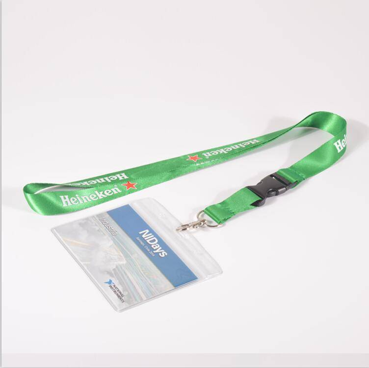 Professional cheap custom name tag neck id card holder lanyard