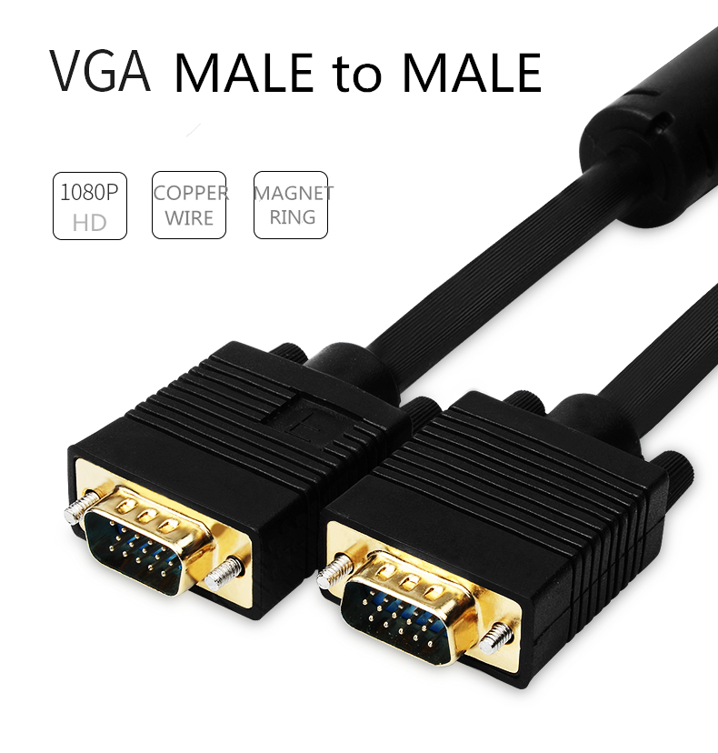HD VGA Video Cable for Computer