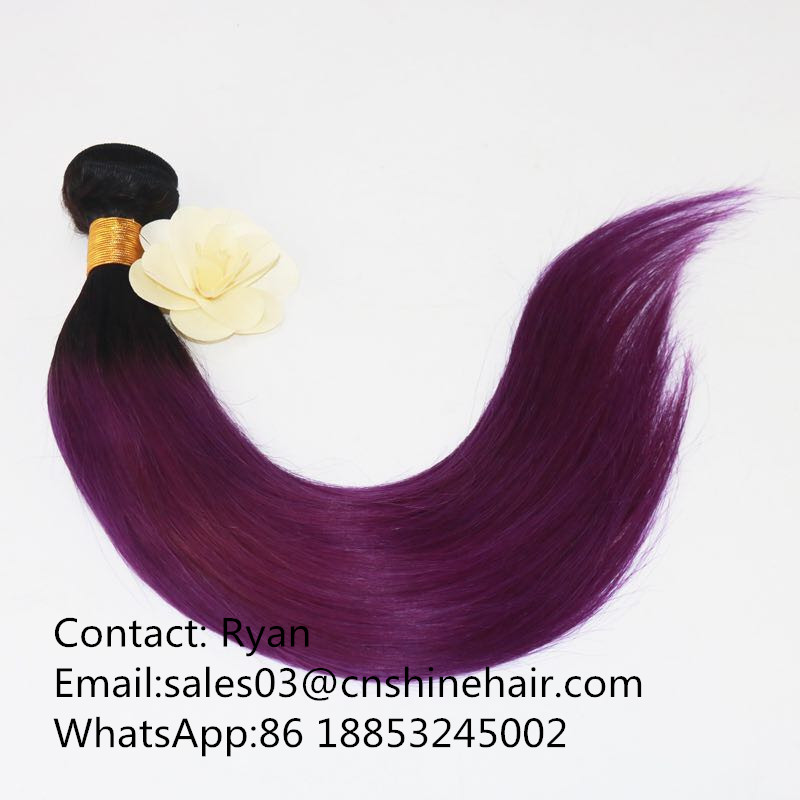 Beautiful hair bundle extension