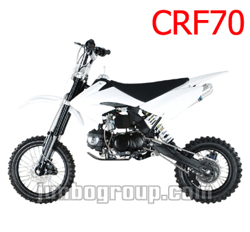 Pit Bike CRF70 with Long Travel Rear Suspension