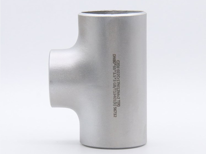 China Supplier Carbon Steel Pipe Weld Copper Fitting Reducing Tee