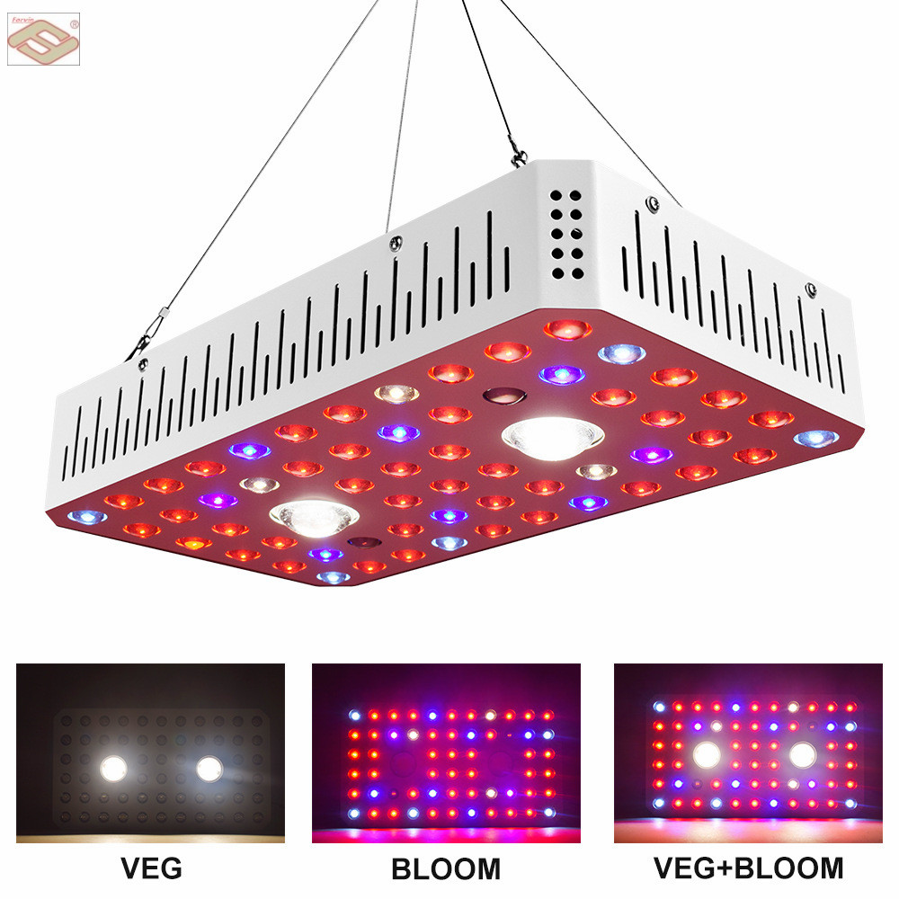 LED Plant Grow Light 1000W CREE COB LED Grow Light Full Spectrum LED Indoor Grow Lights for Indoor