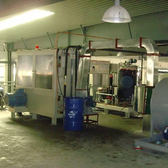 refrigerator thermal foaming machine