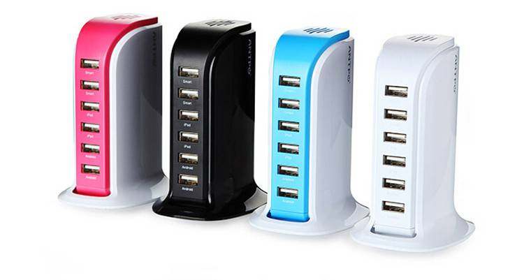 Mobile Accessories 6 Port USB Charger