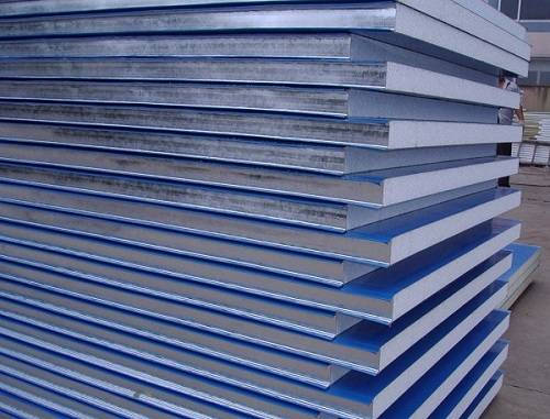 color steel light weight EPS sandwich panels for wall