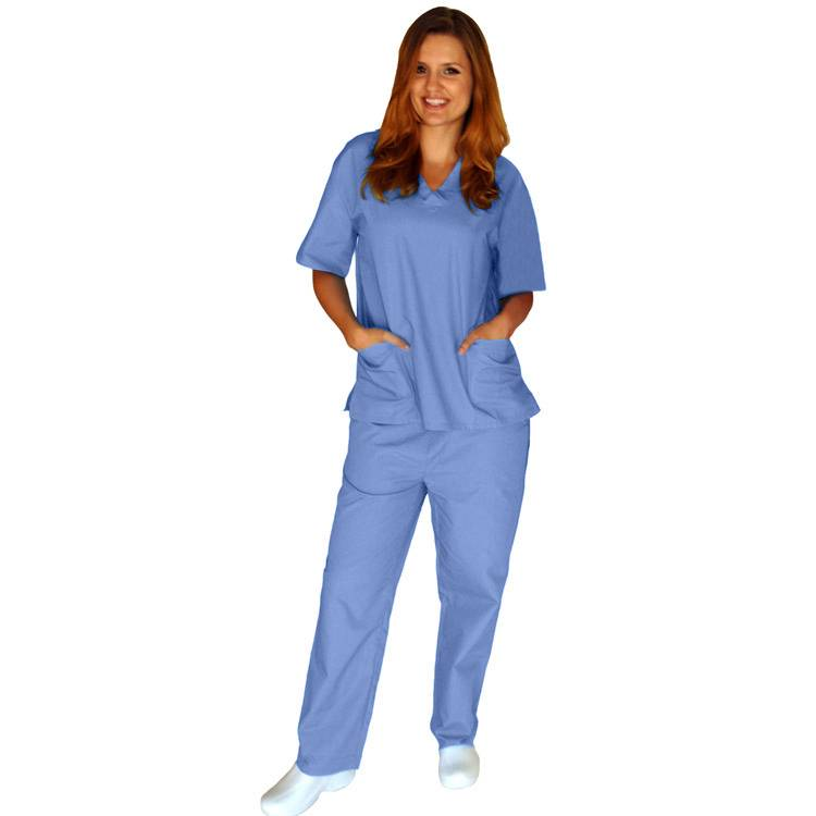 customized hospital uniform medical scrubs high quality nursing scrubs pants medical scrub cargo pan