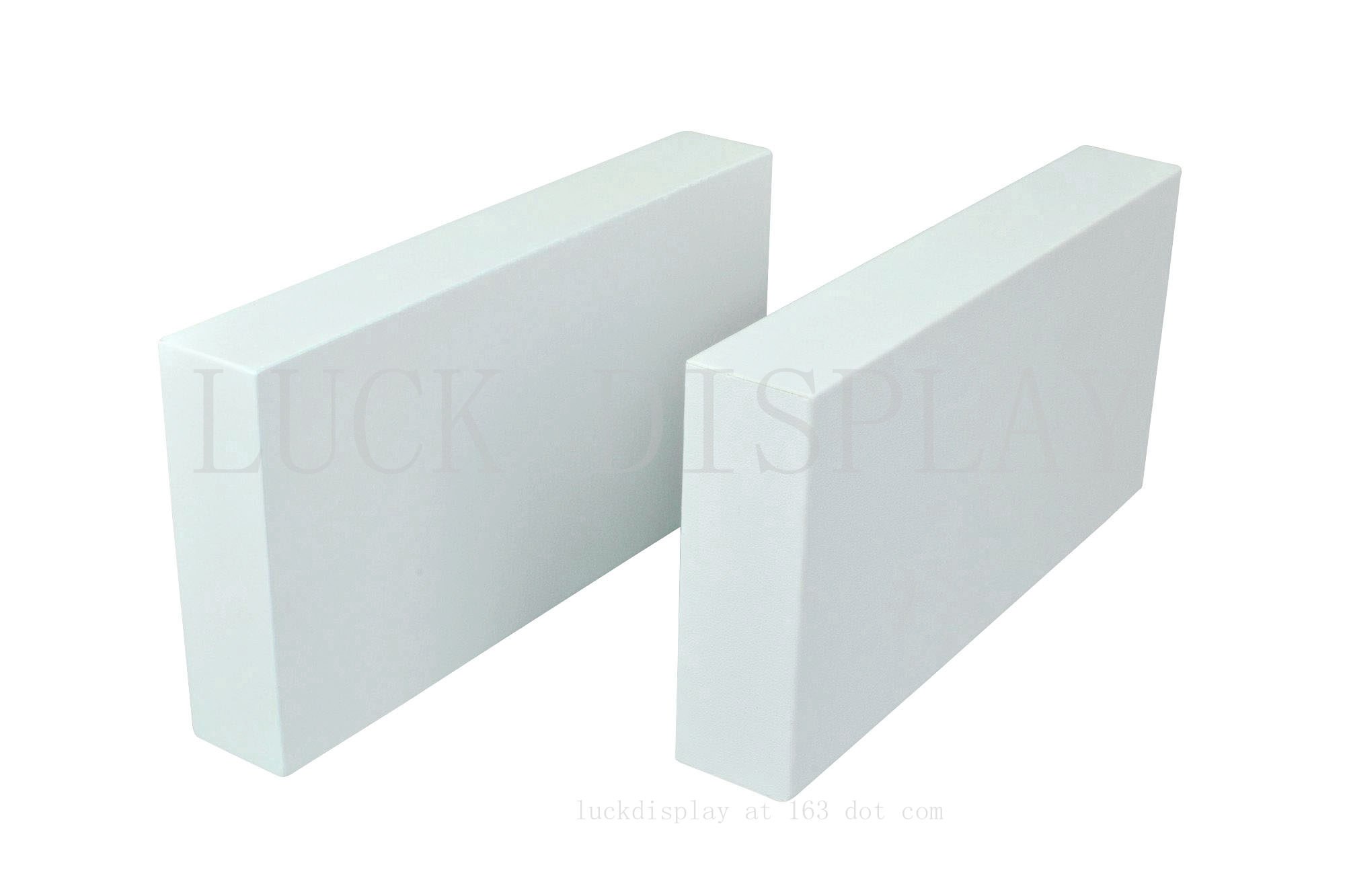 LUCK Display Factory Provide Be-Spoke Display Block Riser Base Board For Jewelry Store Display Props