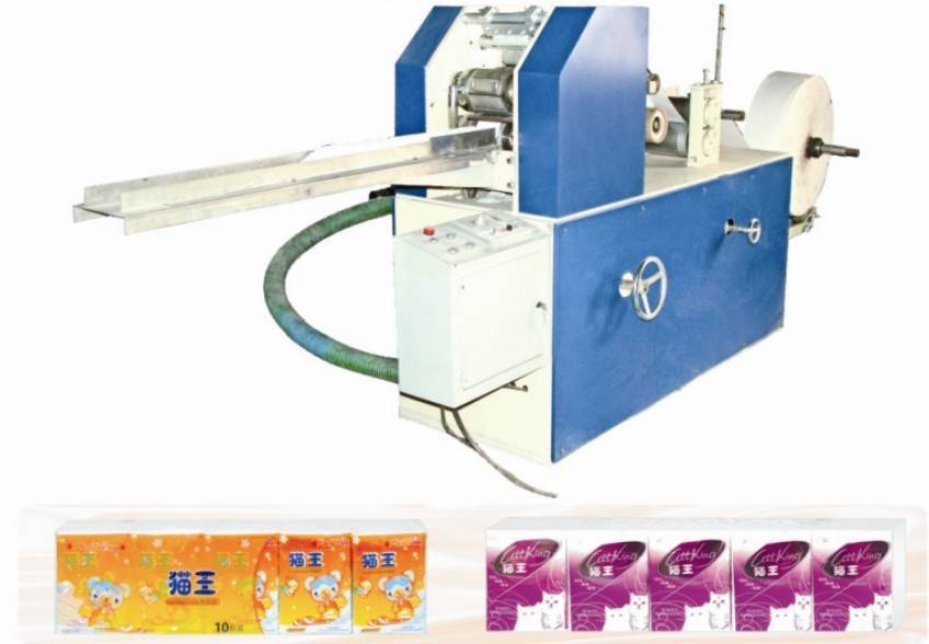 Mini Handkerchief Paper Machine(pocket tissue machine/Mini Face Tissue Machine)