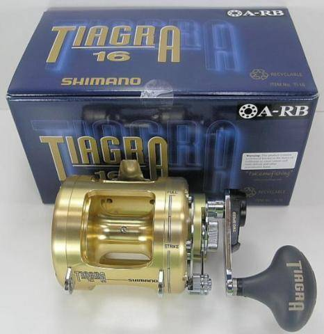 SHIMANO TIAGRA TI16 BIG GAME TROLLING 2 SPD REEL