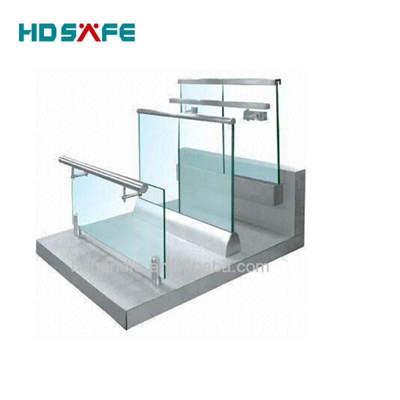 stainless steel balcony railing / stair handrail railing