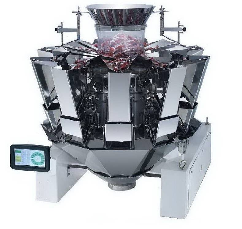 10 heads computerized multihead weigher
