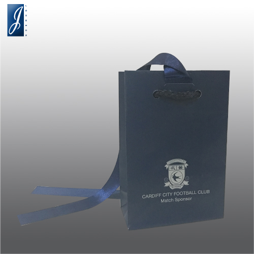 Customized mini paper bag for CARDIFF FC
