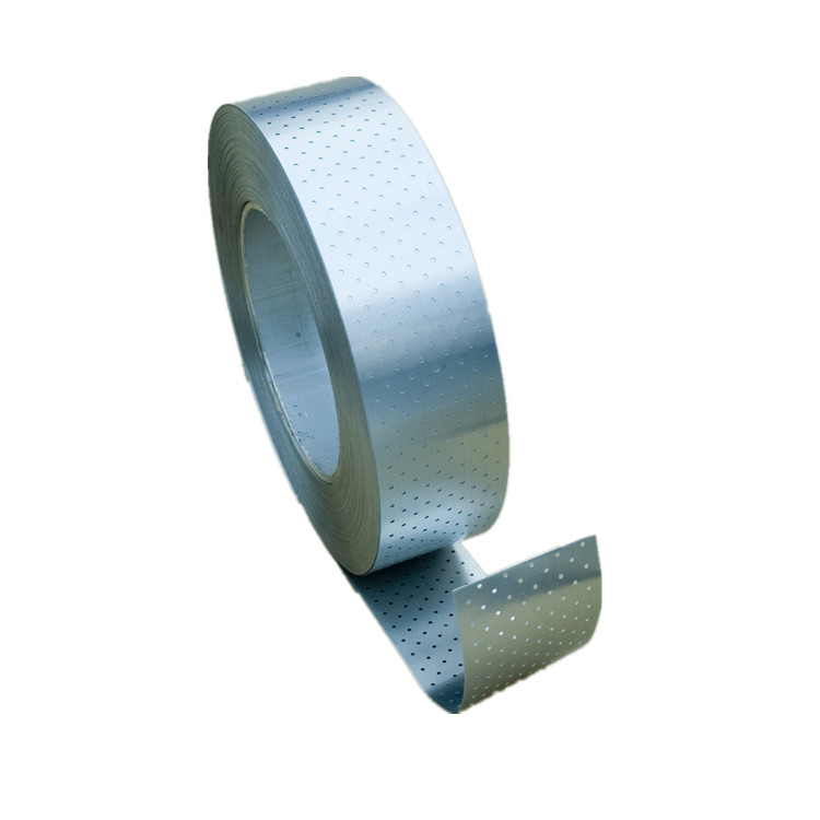 Perforated aluminum barrier for reinforced PPR pipe