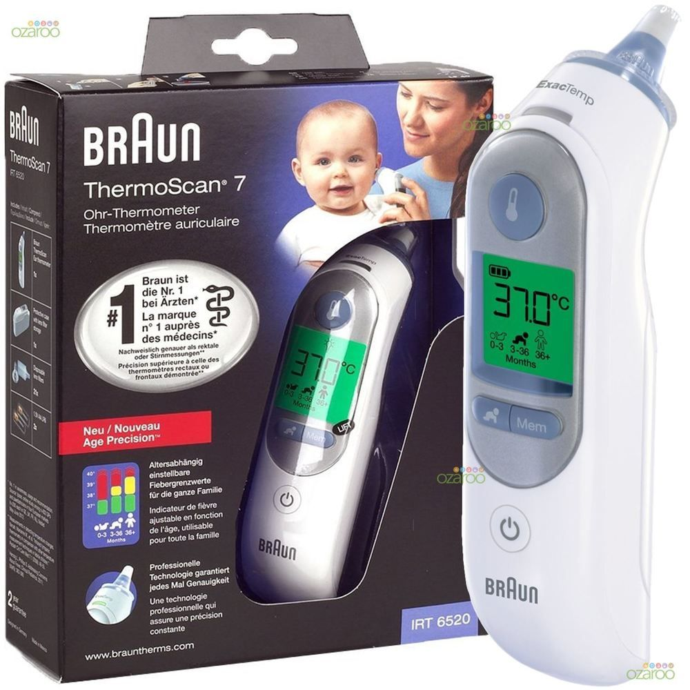 Braun digital ear Thermoscan 3, 5, 7 all series