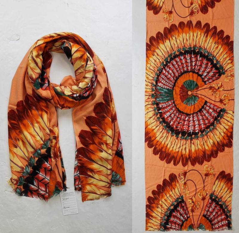 Acrylic scarf HF-RL005