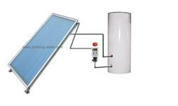 flat panel solar heating system