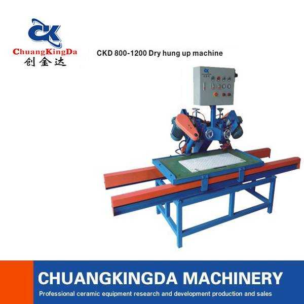 CKD Hang dry grooving machine use for ceramic tiles/Home Improvement Necessary Equipment