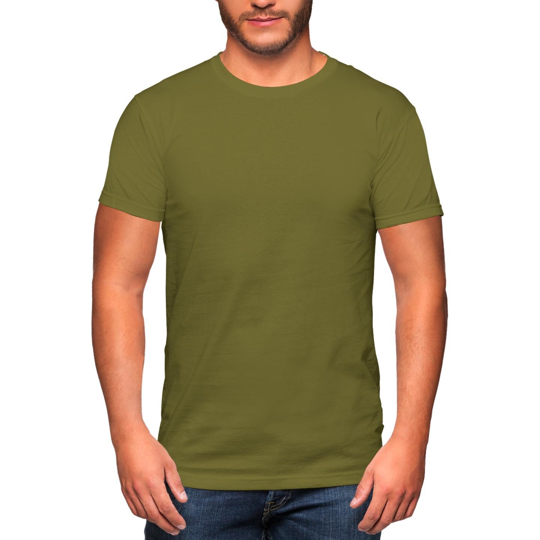 Premium Round Neck Cotton T-shirt