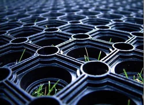 Oil proof and anti slip attractive rubber mat,rubber mat for grass land,Cheap and best seller rubber