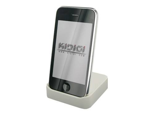 Apple iPhone 3G Crystal Cradle ( White )