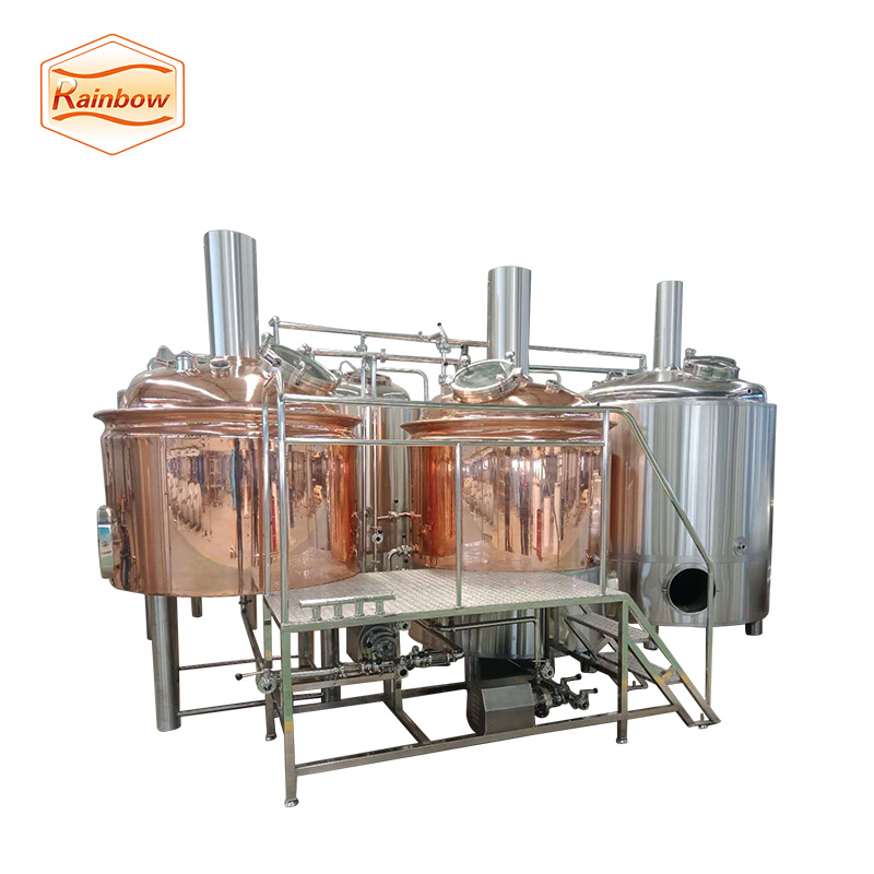1000L red copper beer brewhouse system