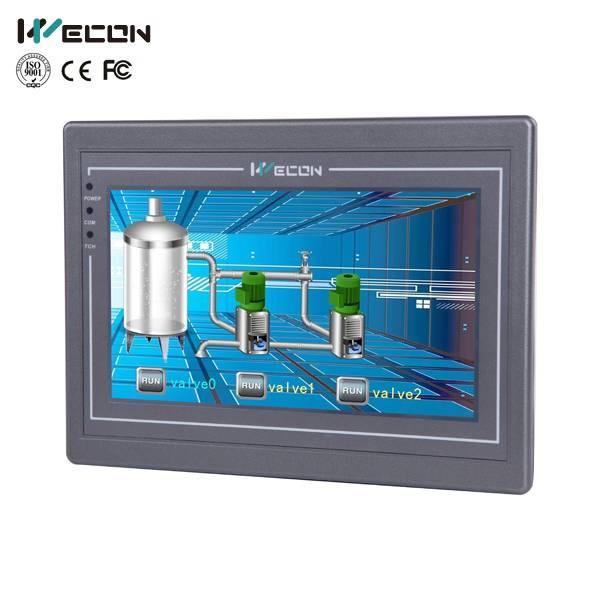 Wecon 7 inch advanced HMI LEVI8708