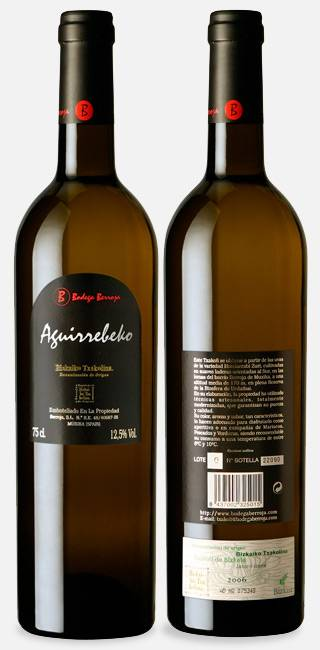 Txakoli: Spanish white wine