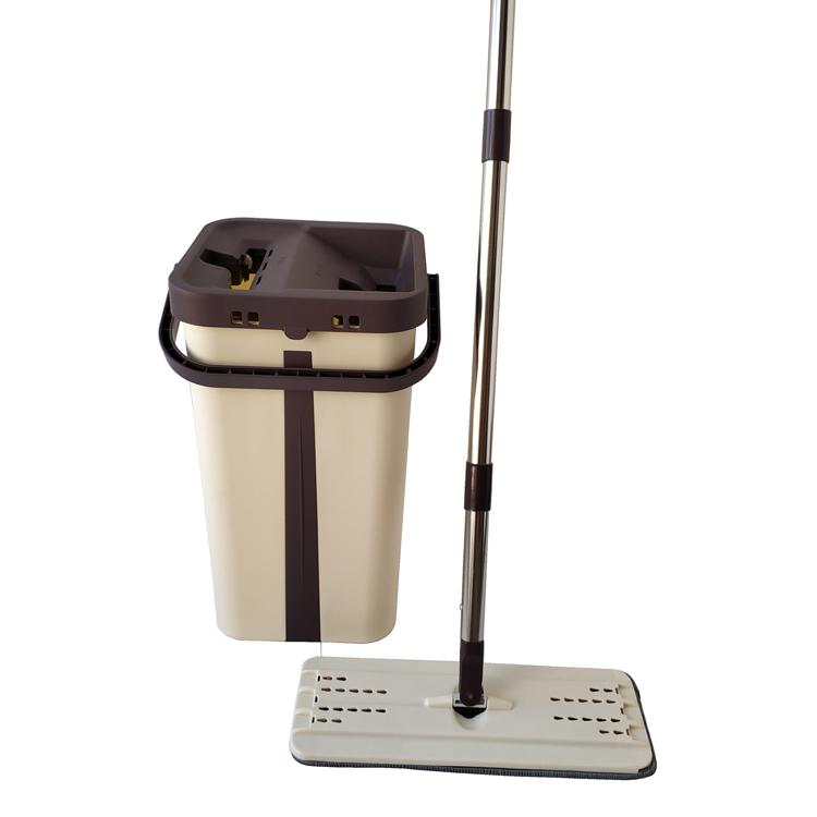Export to Korea flat mop with bucket set CB2023