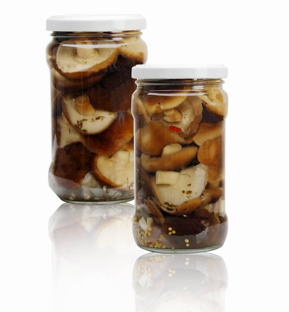 Canned shiitake salted/Marinated