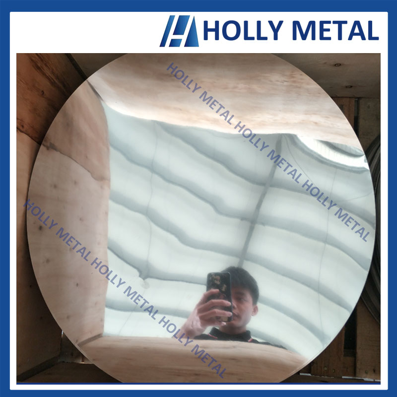 Cold Rolled Stainless Steel Circle Disc Grade 410 BA
