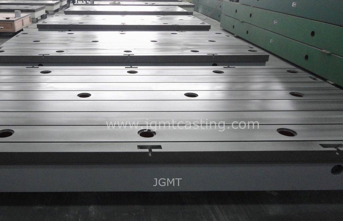 Cast Iron T Slotted Plates
