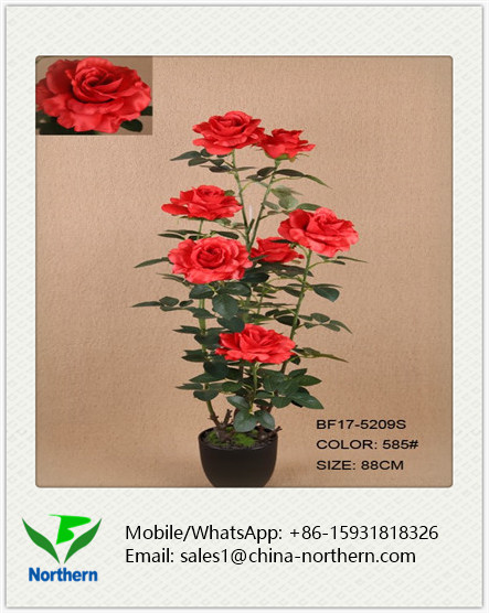 88cm Living Room Decoration Artificial Rose