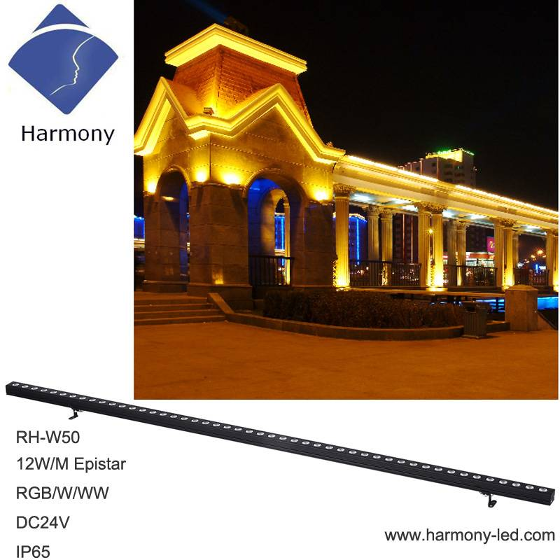 Charming City Color 10W IP65 Wall Wash LED Light Bar