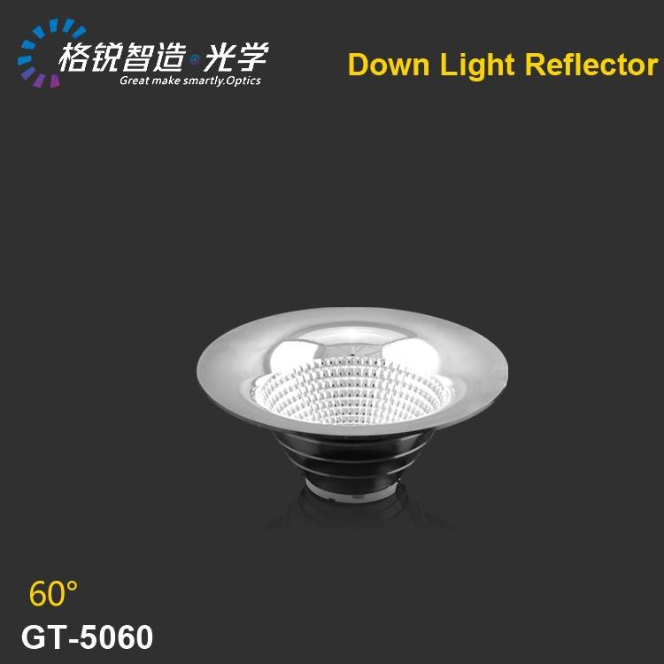 High efficiency cob reflector for down light 50mm
