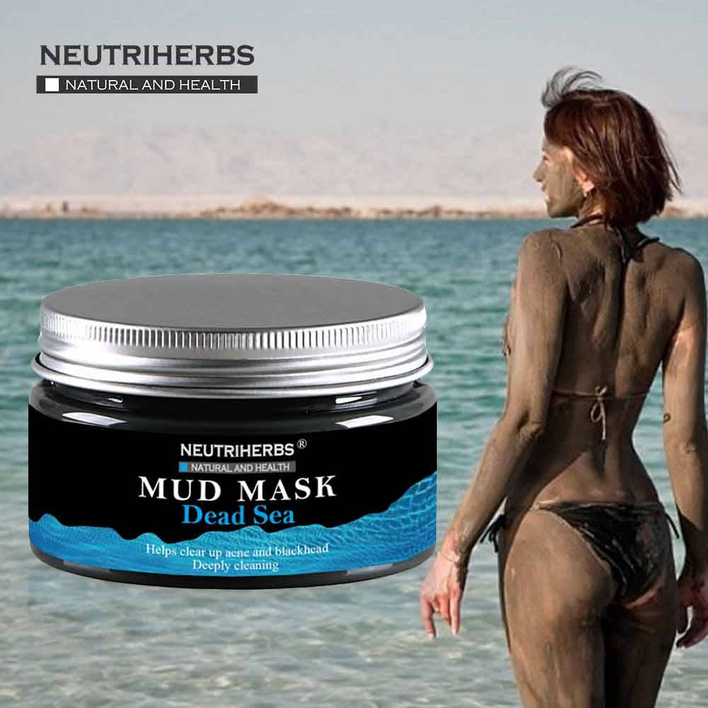 Natural Deep Cleansing Moisturizing Dead Sea Mud Mask to Detoxify skin