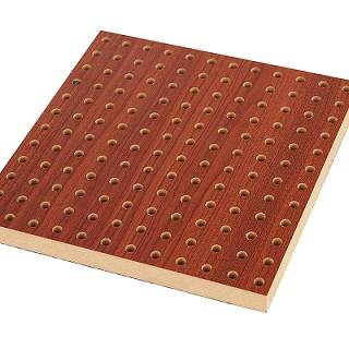 Hospital Decoration Audiometric Booth Wood Perforated Sound Absorbing Panel
