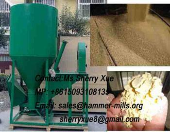 Popular livestock feed grinder mixer,animal feed crusher,feed mill machine AWE004