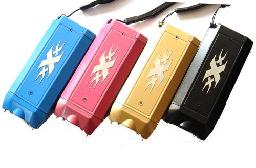 X6 Portable Mini Stun Gun For Self Defense Electric Shock