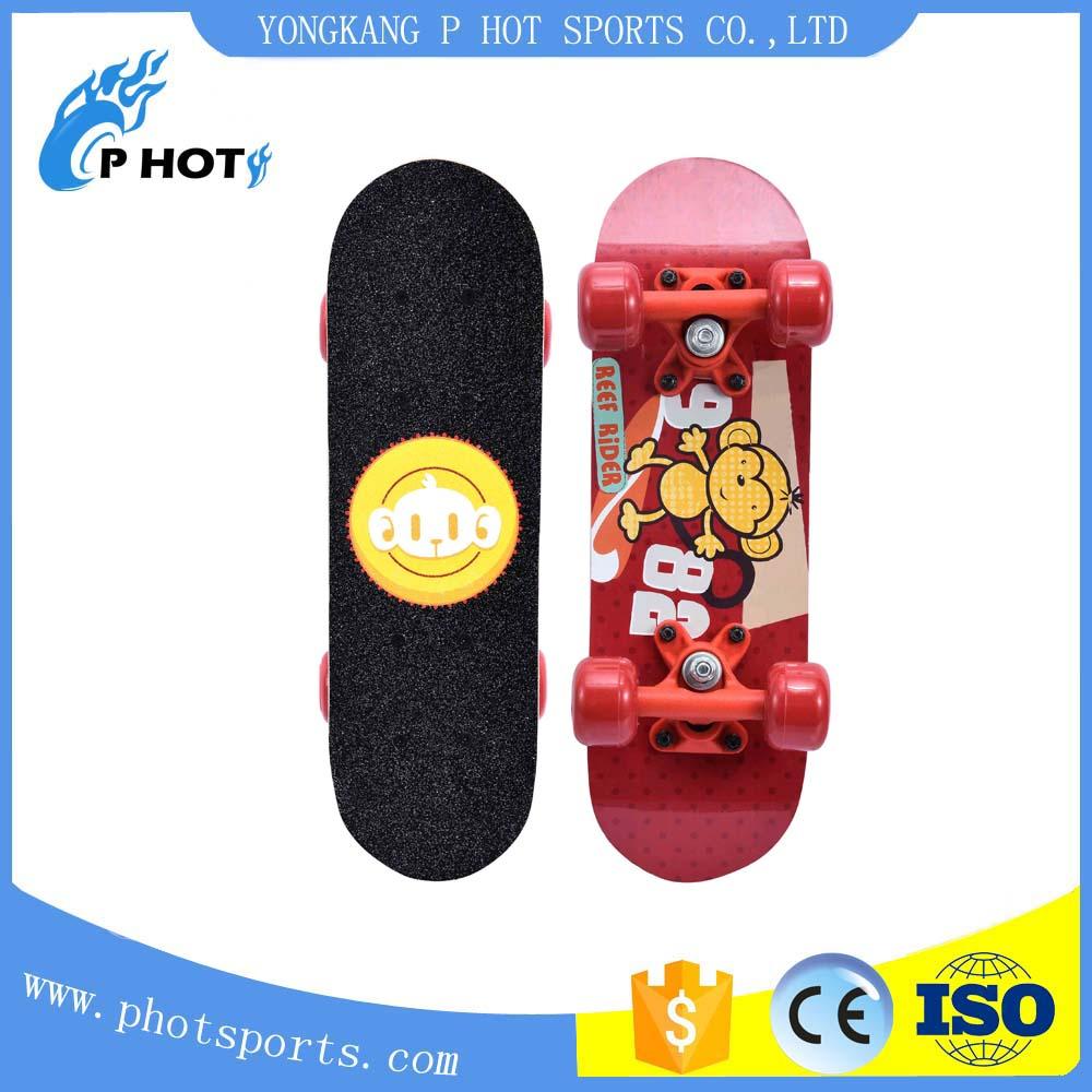 Cool skateboard 17 inch skateboard 9 layer Chinese Maple Skate Board