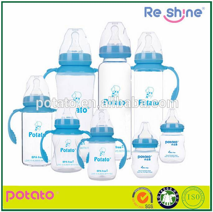 Safe Baby Product Food Grade Cute Shape baby Bottle /cheap Plastic Feeding Bottle