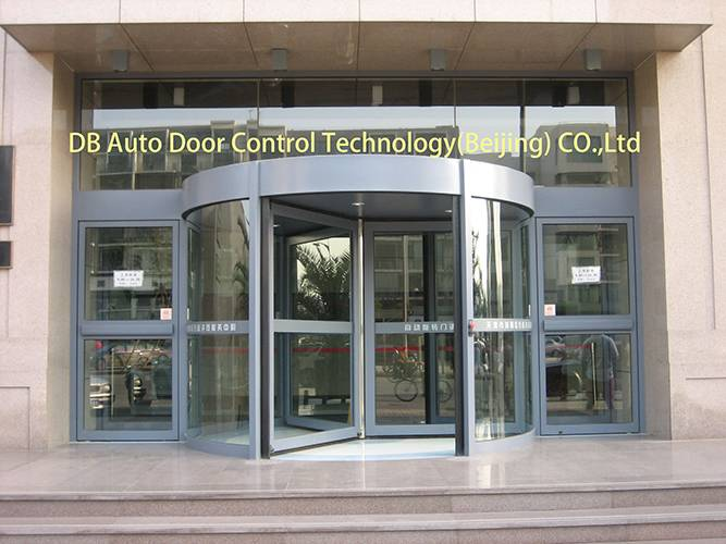 three wing automatic revolving door DB Brand