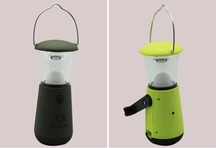 LED Portable Hand-cranked Camping Light
