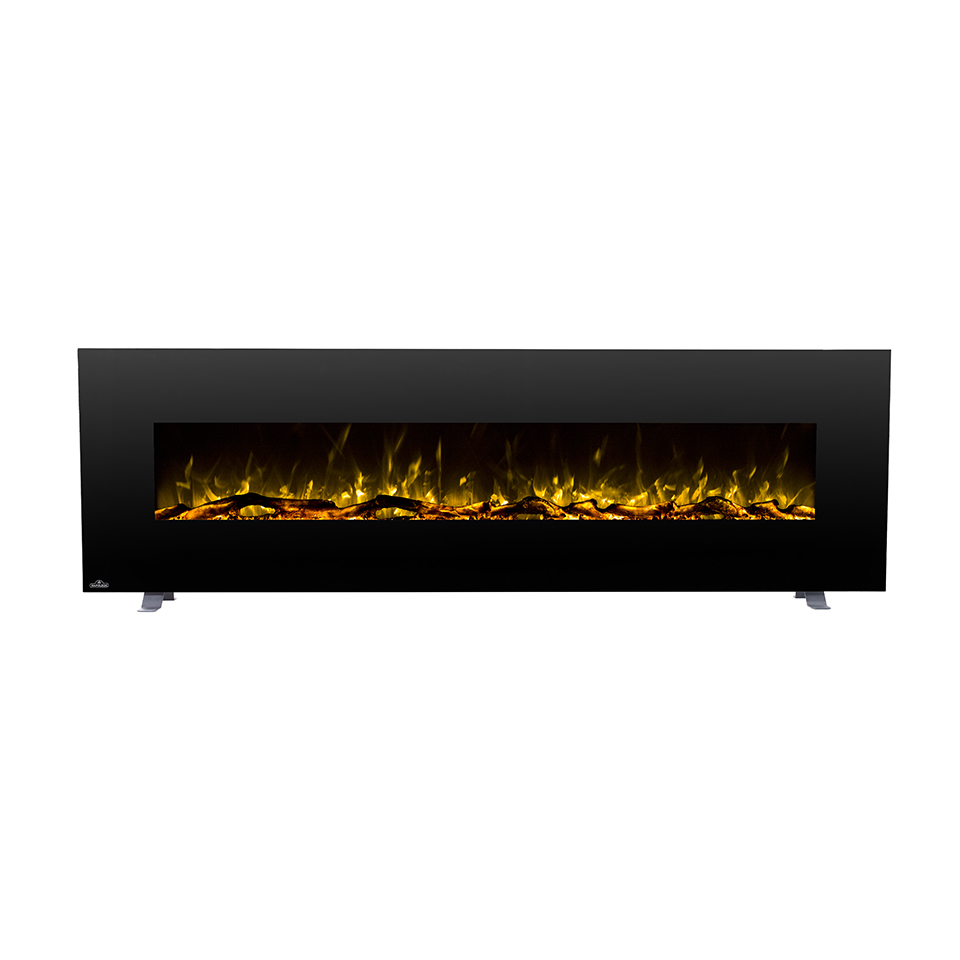 72 inch Napoleon Wall mounted decorative electric fireplace heater