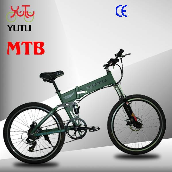 "[YT-2608A]26"" hummer mountain folding electric bike for adults"