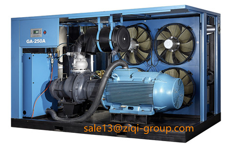 AC Power GA Serious 250KW-560KW Screw Air Compressor for Industrial Machine