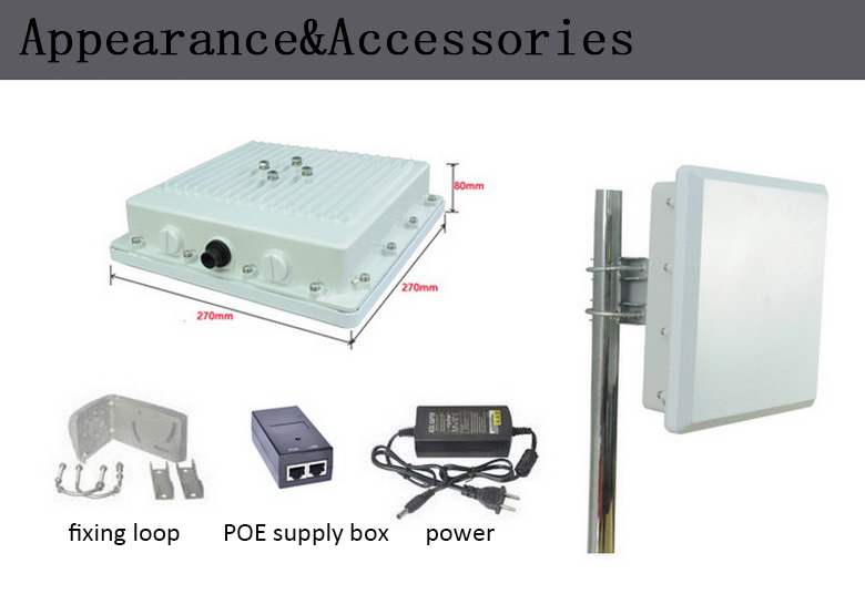 Long-distance industrial outdoor wireless monitoring equipment,high-speed transmission equipment
