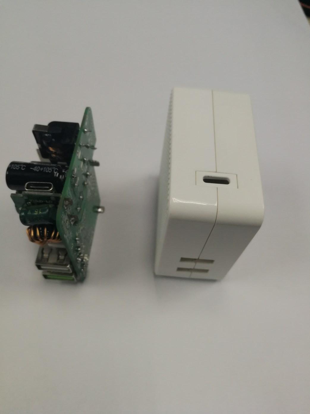 QC 3.0 fast charging + PD Type C